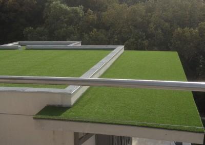 Pose sur toiture (350m2)